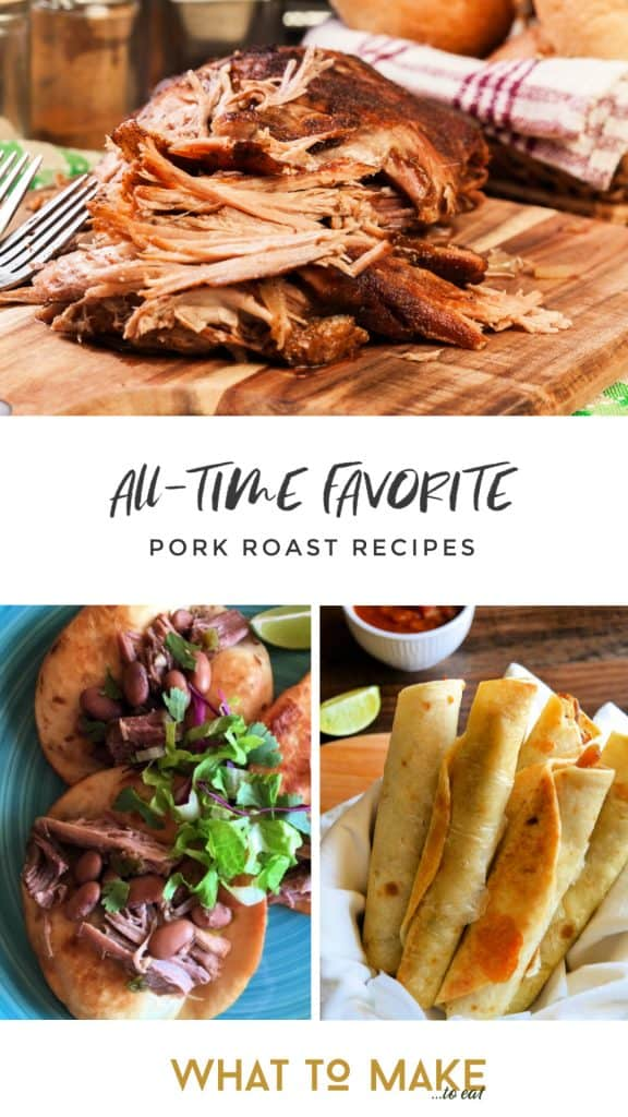 15 delicious pork roast recipes that are sure to answer the age old question, what to make for dinner.