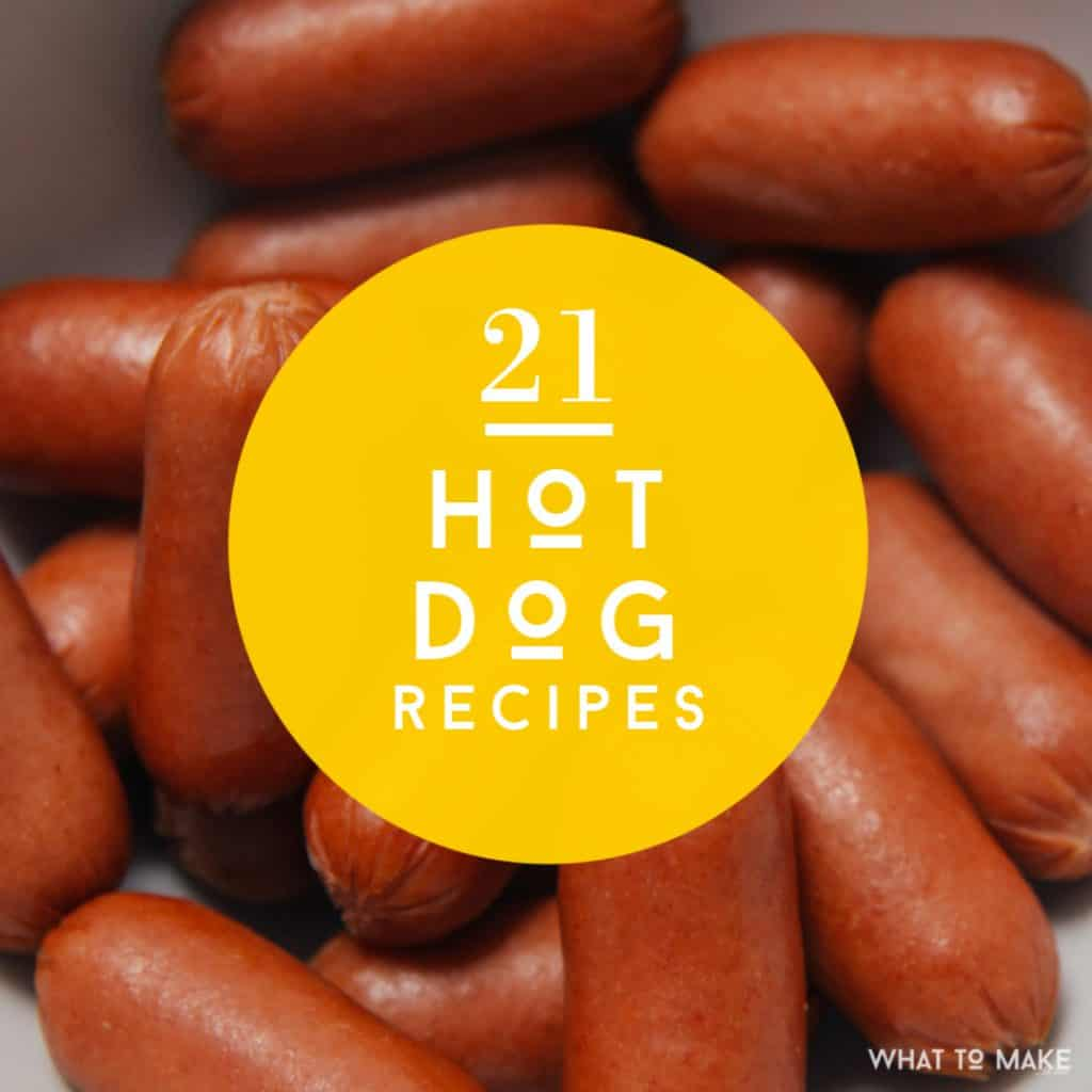 Wondering what to make with hot dogs? Check out these 21 easy hot dog recipes.