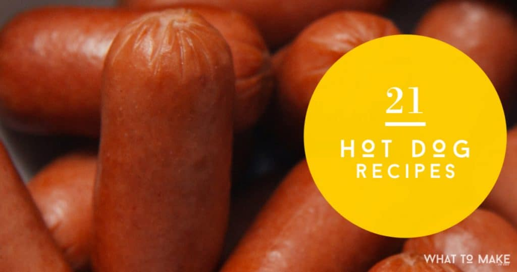 Trying to break away from the boring bun? Learn what to make with hot dogs with this collection of quick and easy hot dog recipes.