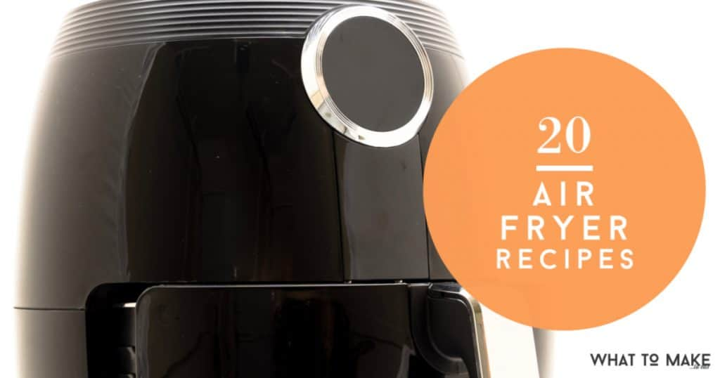 These easy air fryer recipes are the answer to what can you cook in an air fryer. From side dishes to the main dish, there is a quick recipe for you! You can really taste the difference! #whattomaketoeat
