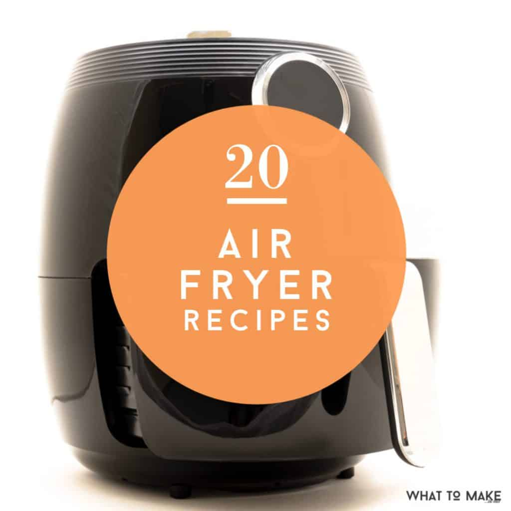 Pondering what to make in an air fryer? Maybe you are one of the lucky ones who received an air fryer this Christmas, or maybe you have one that you're ready to dust off. Either way, these air fryer recipes will have you frying up delicious meals in no time!