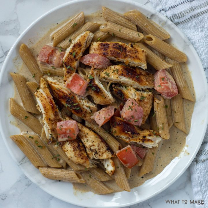 dish from a cajun alfredo sauce recipe