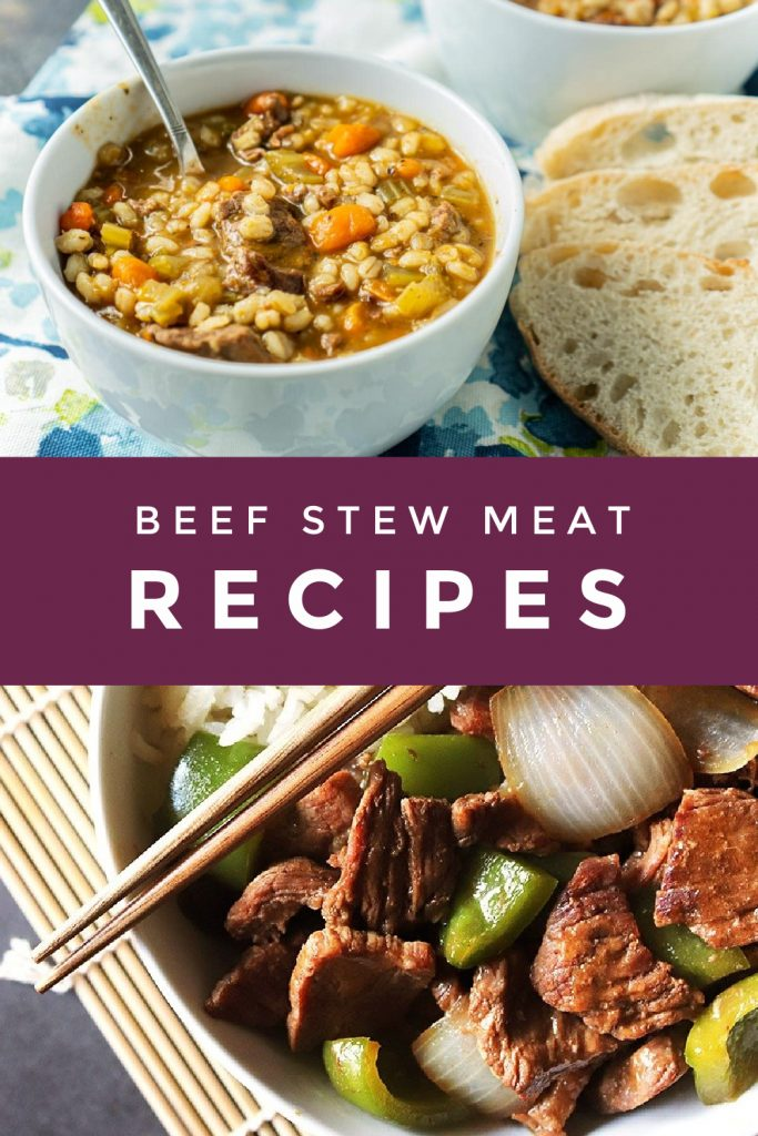 images of meals to make with stew meat.
