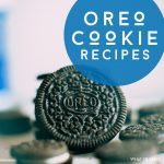 """Image of an Oreo Cookie. Text Reads: """"Oreo Cookie Recipes"""""""